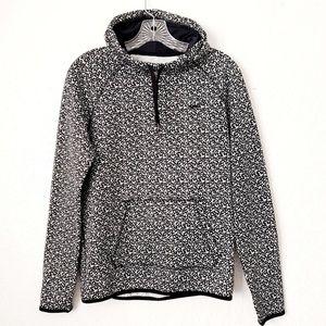 Nike Therma-Fit Black Speckled Hooded Sweatshirt